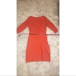 Calvin Klein orange dress